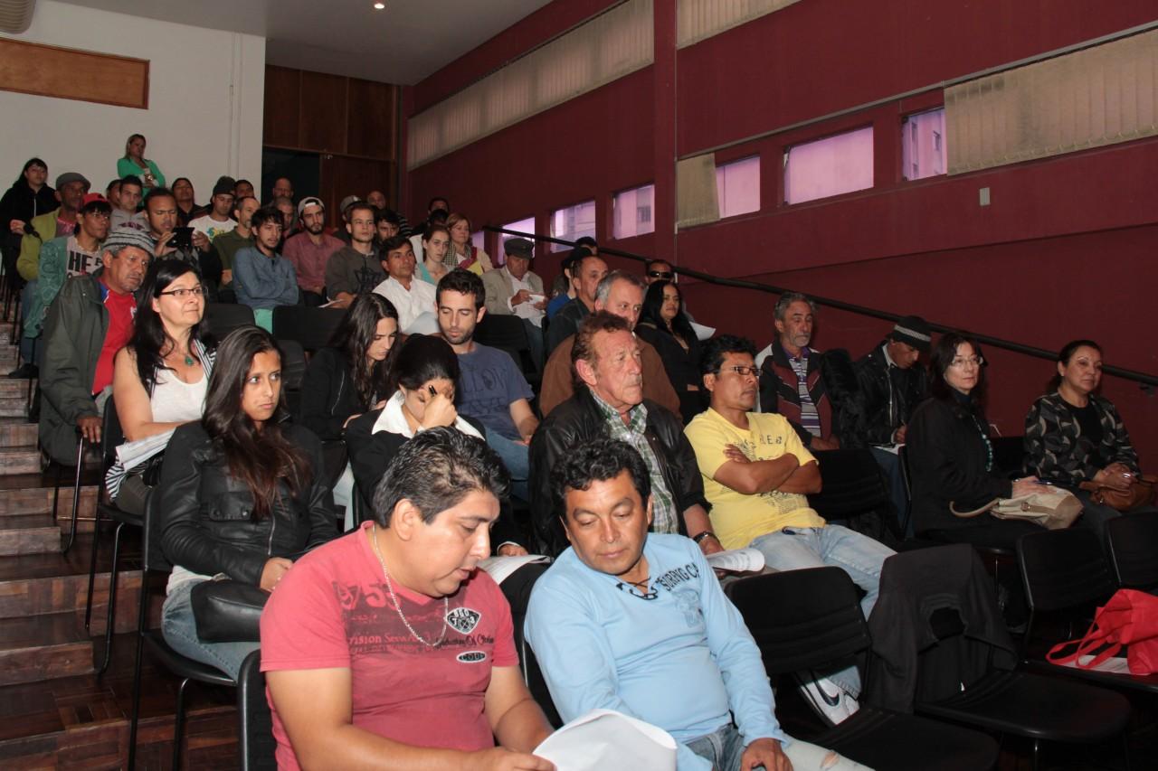 Cerca de 70 artistas participaram do encontro. Foto: Alice Rodrigues
